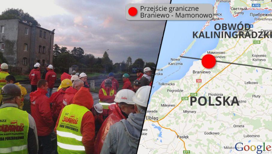 Zwiększenie importu węgla z Rosji oburza polskich górników (fot. Śląsko-Dąbrowska NSZZ Solidarność/maps.google.com)