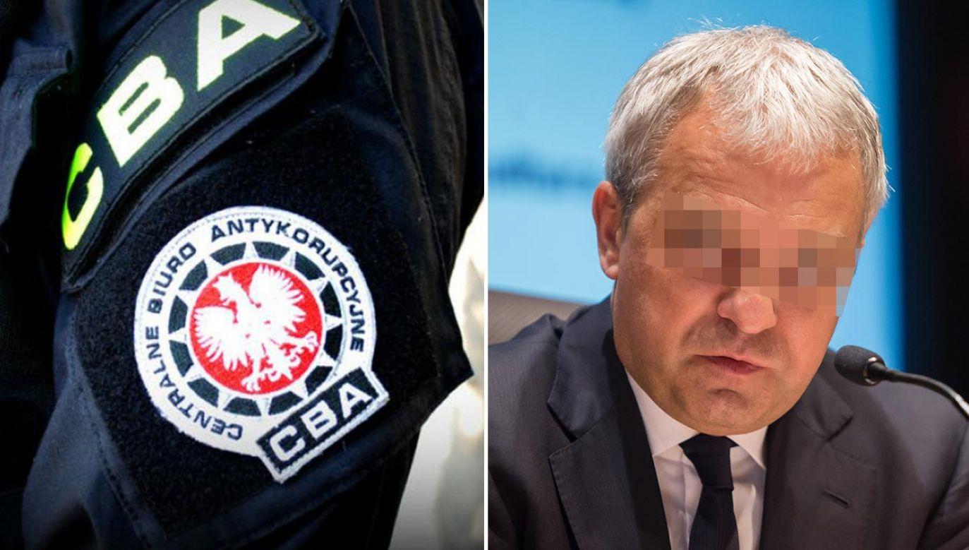 K. szefował państwowym koncernem w czasach rządu PO-PSL (fot. CBA; Forum/Krystian Maj)