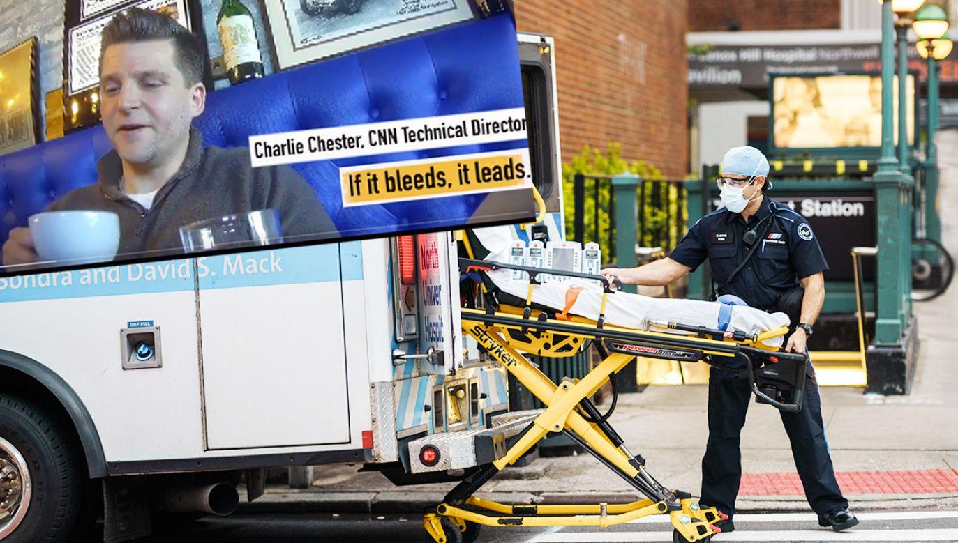 Nowe nagrania z udziałem dyrektora CNN Charliego Chestera (fot. Shutterstock; TT)
