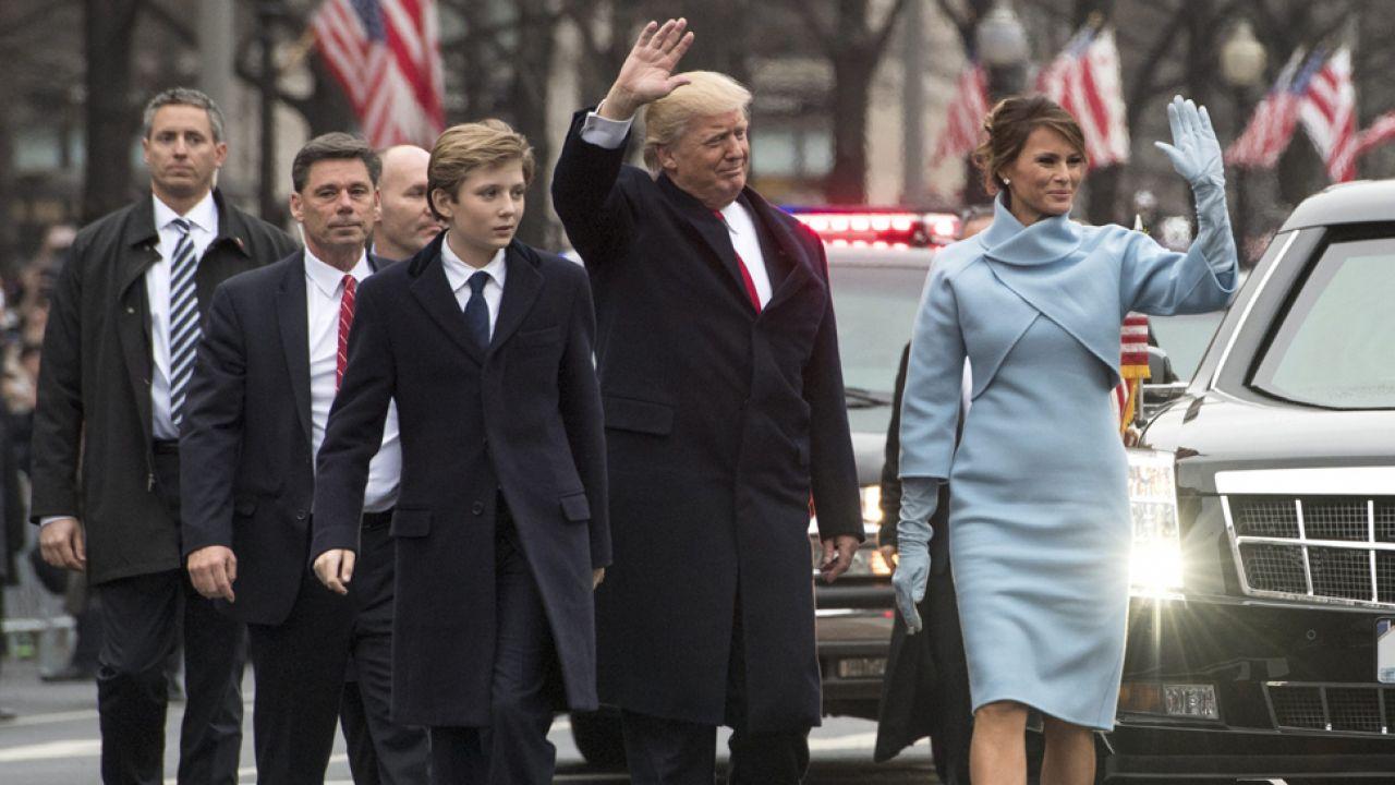 Donald Trump został 45. prezydentem USA (fot. PAP/EPA/ERIK S. LESSER)