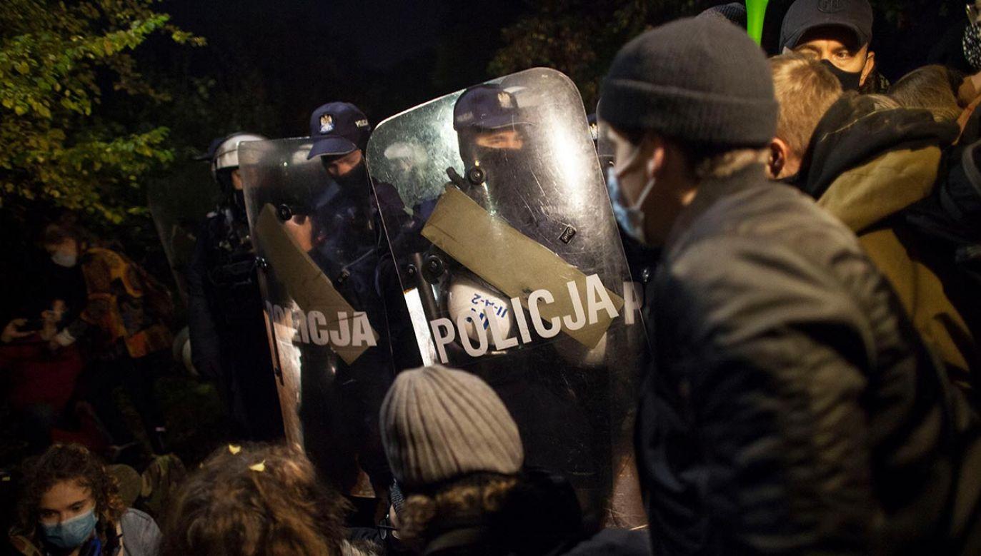 Premier o braku interwencji ws. proaborcyjnych protestów (fot. Maciej Luczniewski/NurPhoto via Getty Images)