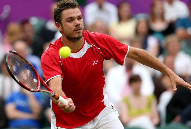 W pierwszej rundzie Brytyjczyk łatwo wygrał ze Szwajcarem Stanislasem Wawrinką (fot. Getty Images)