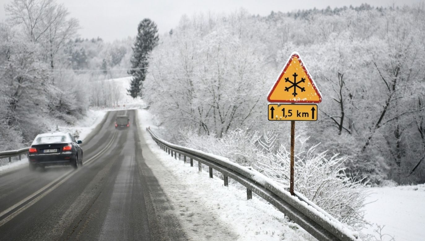 Duży spadek temperatury (fot. PAP/Darek Delmanowicz)
