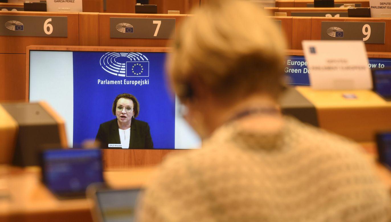 Europosłanka PiS Anna Zalewska (fot. Jan VAN DE VEL, European Union 2020, EP)