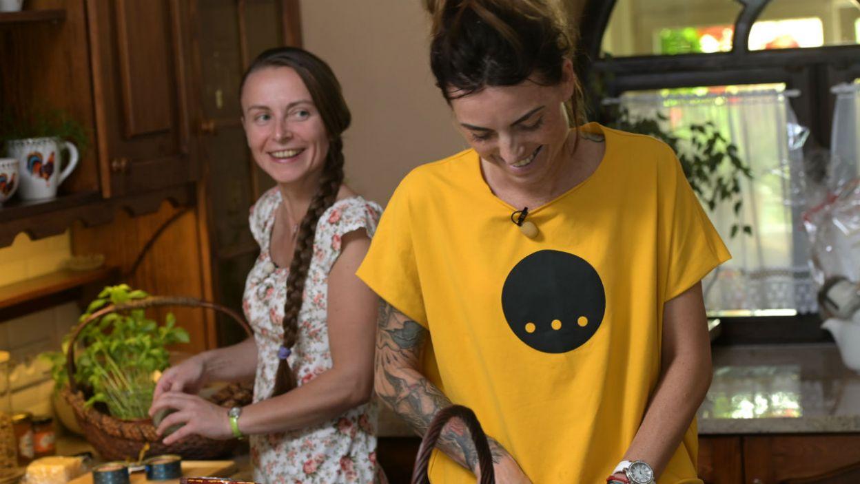 – Obawiałam się trochę, że przyjedzie Ewa i będzie świetną kucharą! – swoimi obawami podzieliła się Ania (fot. P. Matey/TVP)