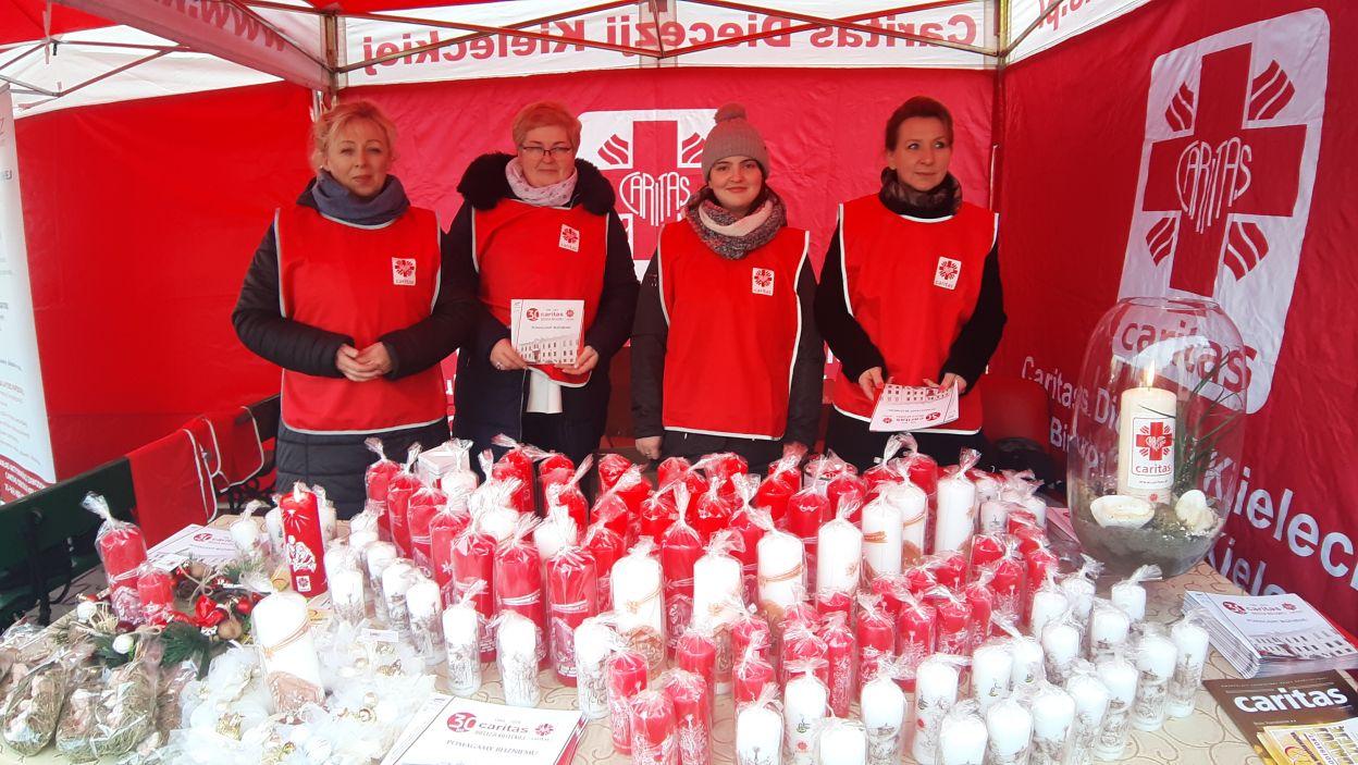 Wspólna akcja Caritas i Telewizji Polskiej w świętokrzyskiej odsłonie (fot. materiały Caritas Polska)