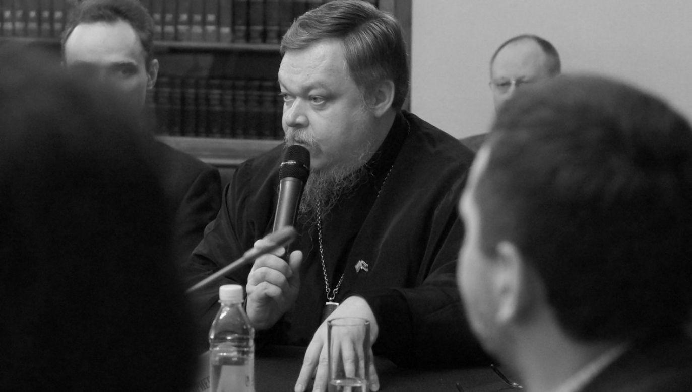"""Protojerej twierdził że wojna z Ukrainą to """"misja cywilizacyjna"""" (fot. FB/prot.v.chaplin)"""