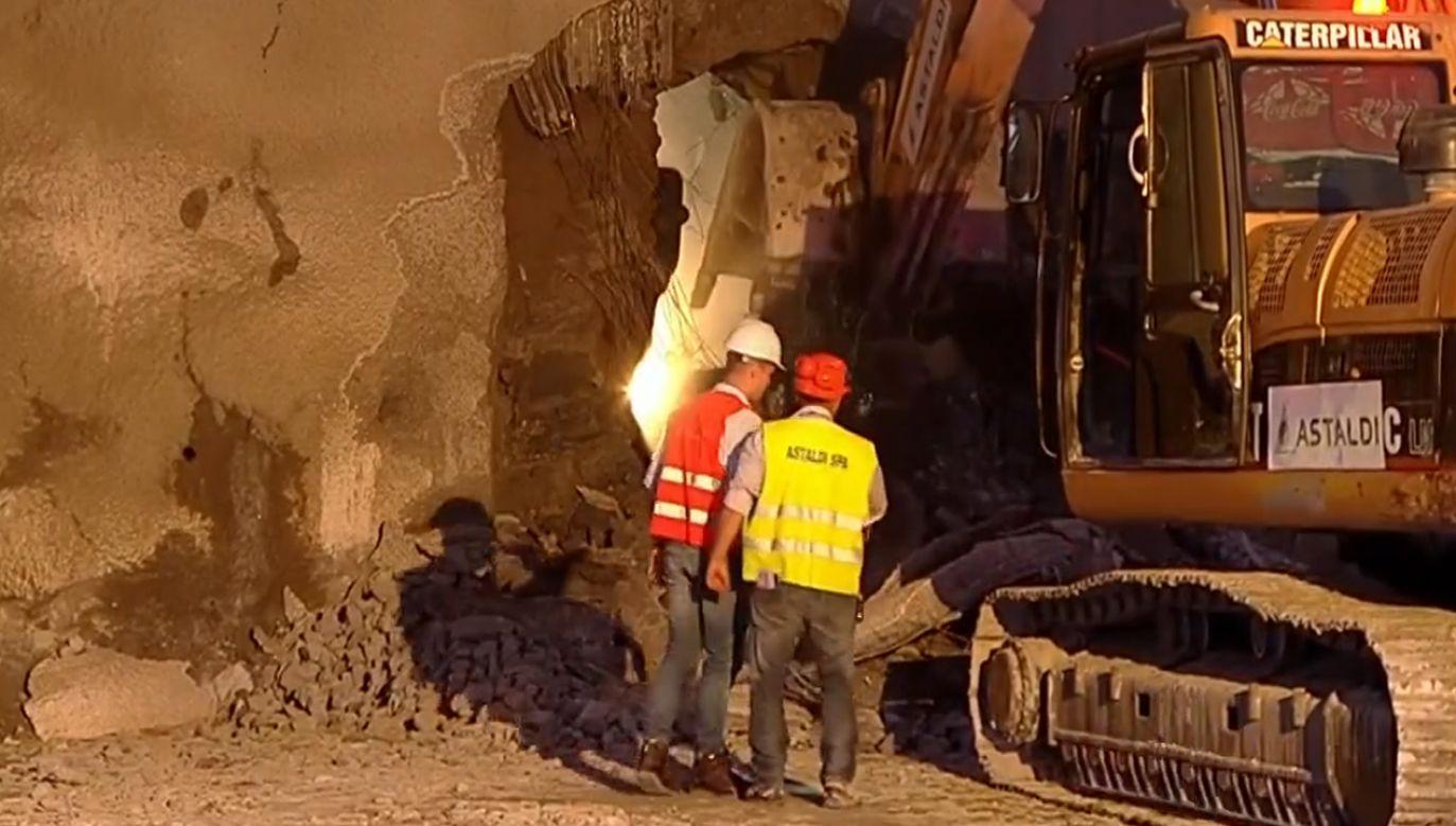Tunel ma poprawić komfort jazdy (fot.TVP info)