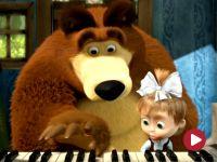 Masza i niedźwiedź, odc. 19 – Próba orkiestry