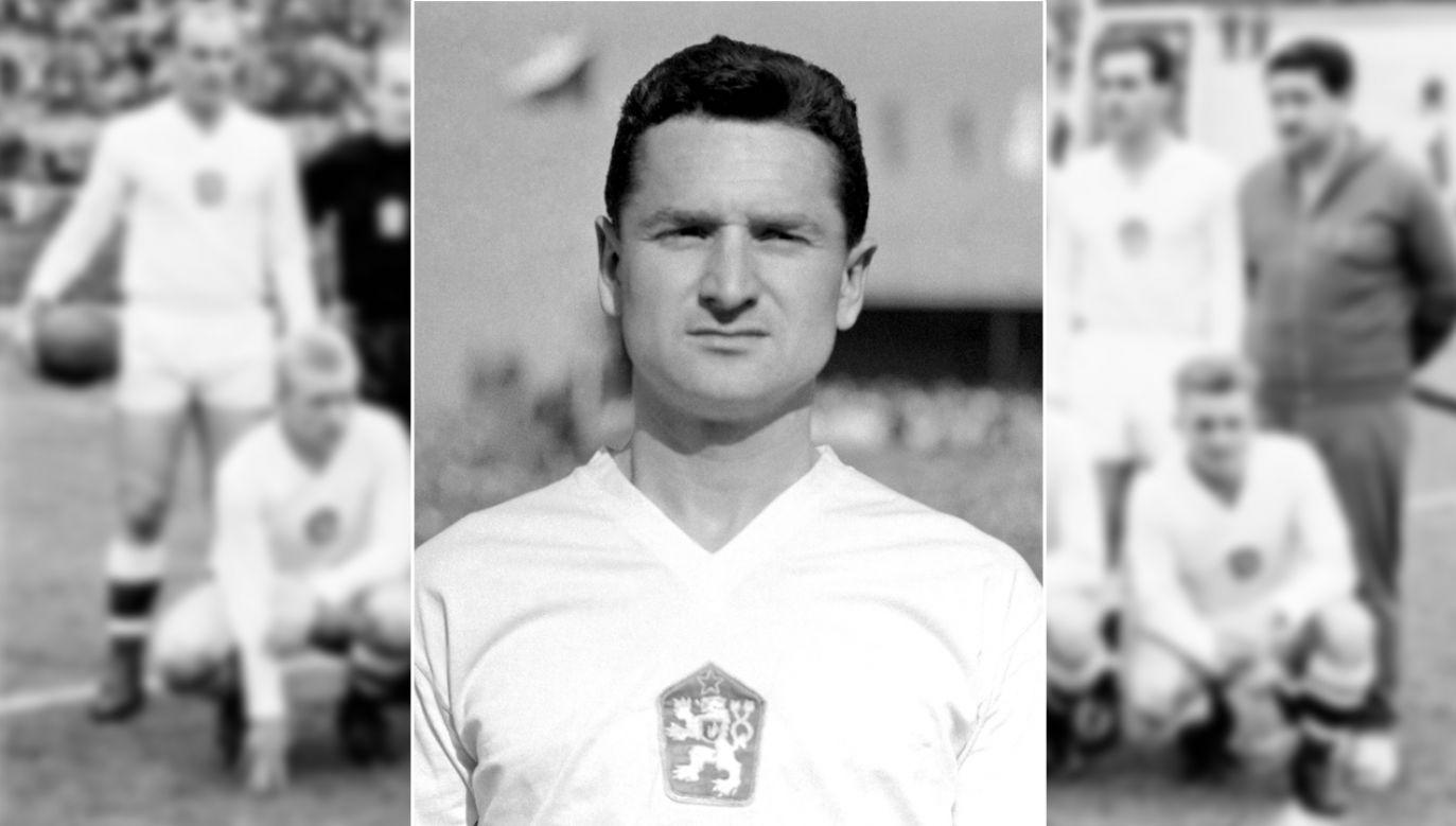 Grał jako napastnik m.in. w Sparcie i Slavii Praga (fot. arch. PAP/CTK)