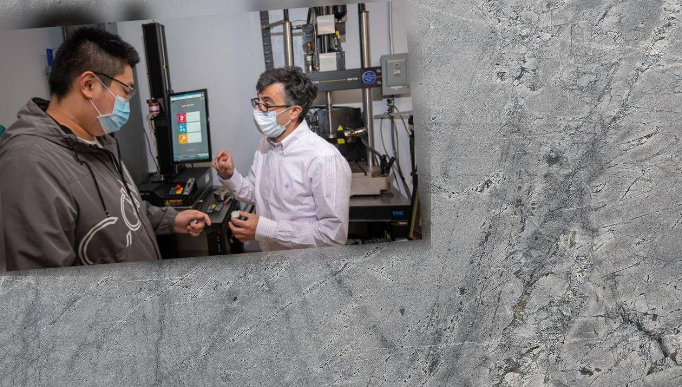 Nowy beton w ciągu dobry naprawia pęknięcia w skali milimetrów – dziesiątki razy szybciej niż inne proponowane rozwiązania tego typu (fot. Pexels/Worchester Polytechnic Institute)