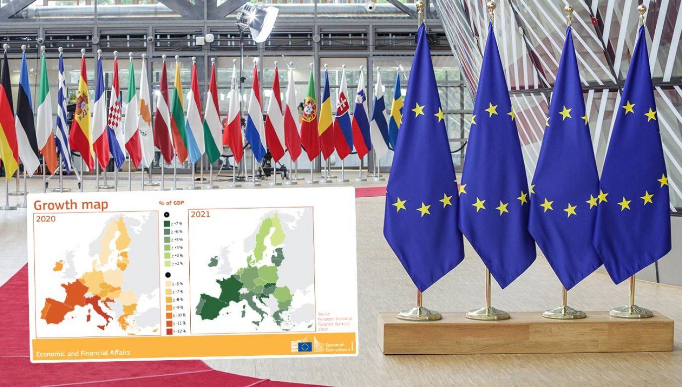 Znaczący impuls gospodarce UE może dać propozycja nowego budżetu – ocenia Komisja Europejska (fot. Nicolas Economou/NurPhoto via Getty Images)