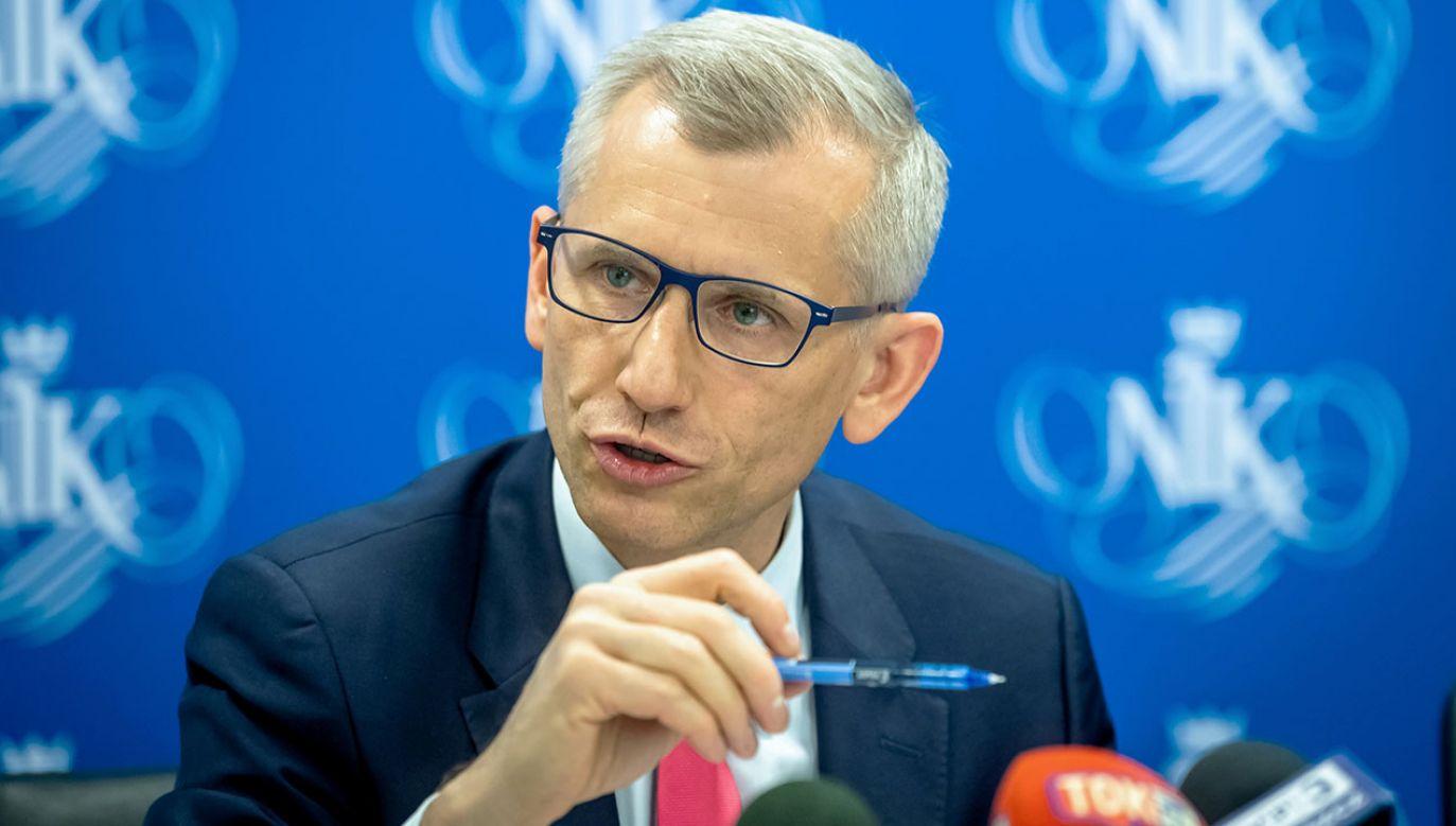 Krzysztof Kwiatkowski oświadczył, że wystartuje w wyborach (fot. arch.PAP/Tytus Żmijewski)