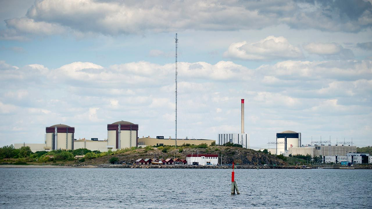 Reaktor wyłączono po 45 latach (fot. PAP/EPA/BJORN LARSSON ROSVALL)