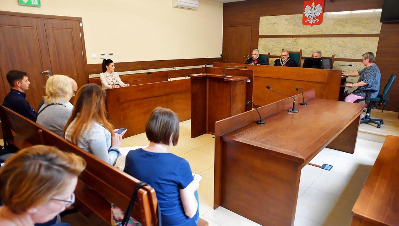 Sprawa apelacyjna Marcina K. w Kielcach (fot. PAP/Piotr Polak)