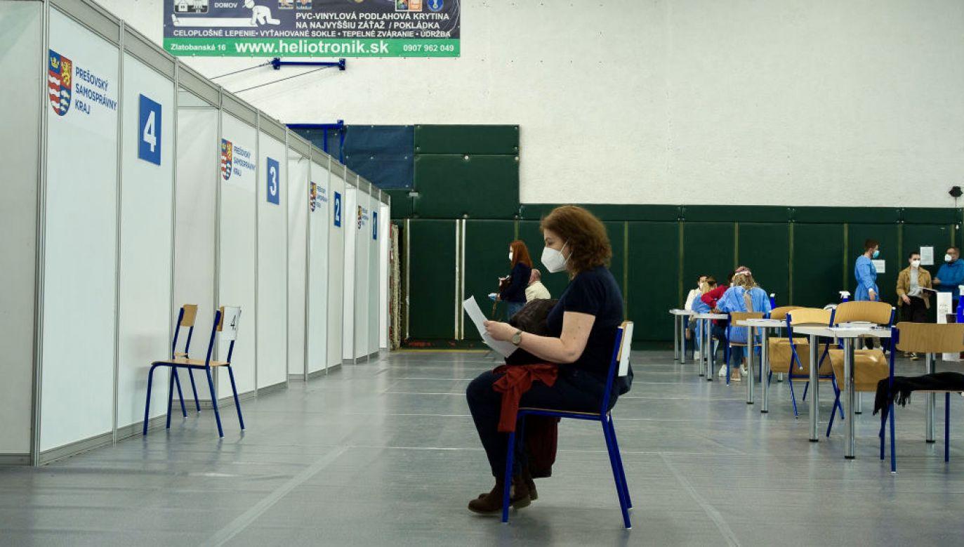Premier Słowacji podziękował rodakom za dyscyplinę w czasie pandemii (fot. Zuzana Gogova/Getty Images)