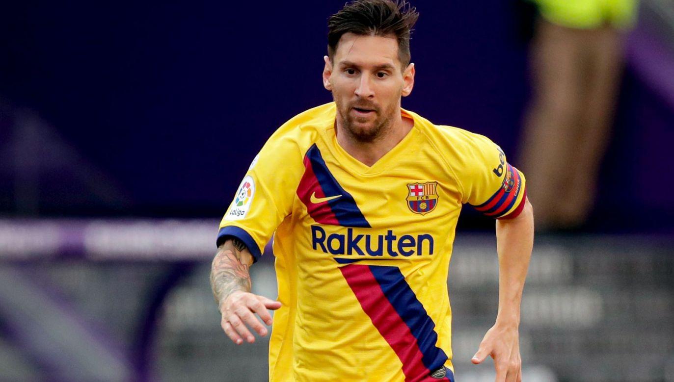 W sobotę Leo Messi zanotował 20. asystę w sezonie La Ligi (fot. Getty Images)
