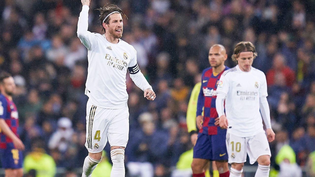 W poprzednim meczu Real wygrał na Camp Nou 3:1 (fot. Mateo Villalba/Quality Sport Images/Getty Images)