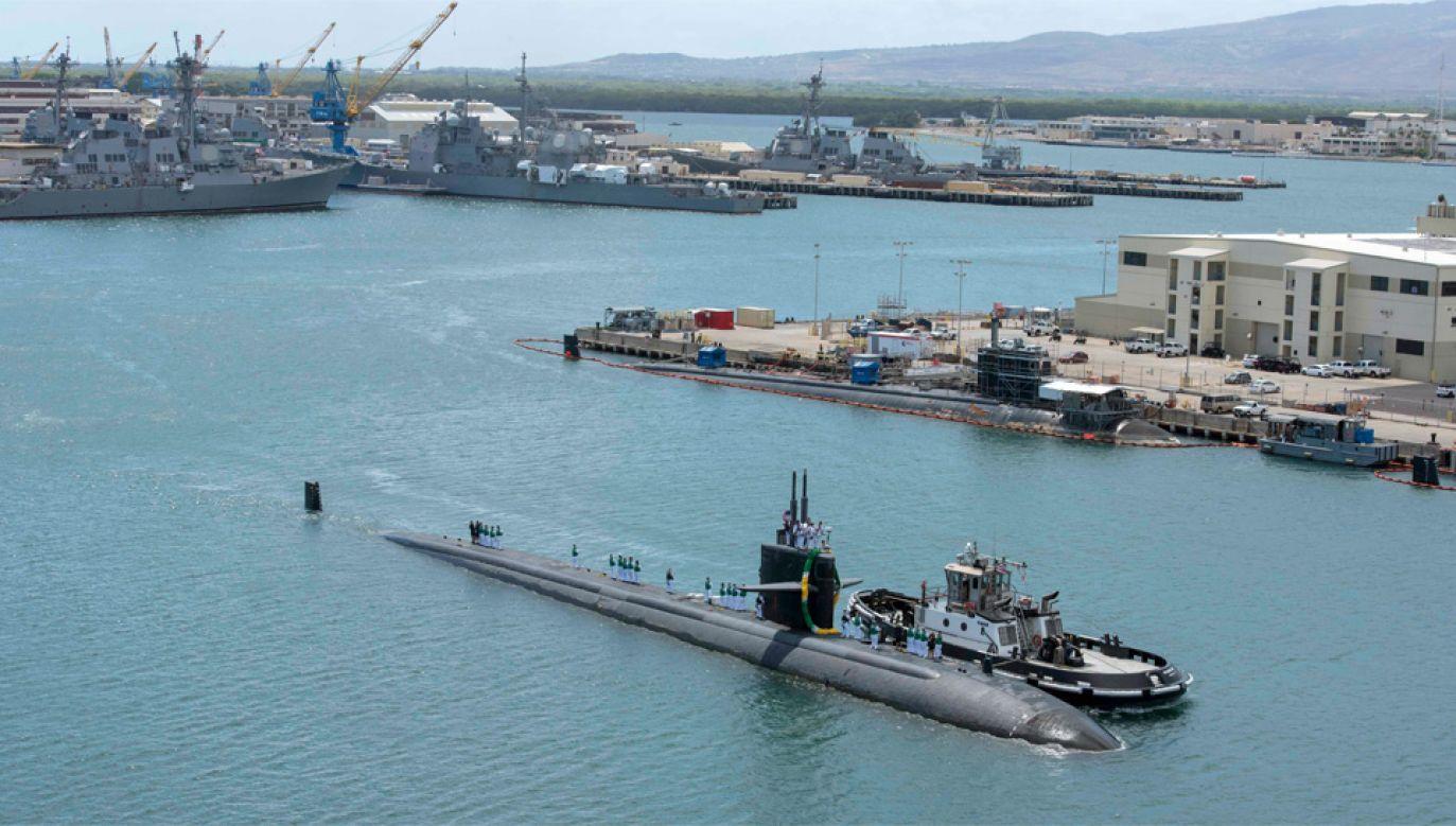 Sprawcą strzelaniny był marynarz służący na okręcie podwodnym USS Columbia (fot. US Navy)