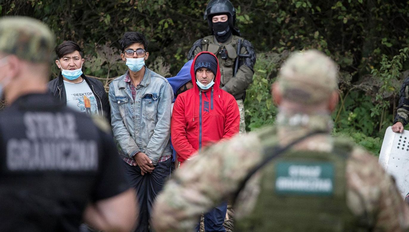 Sekretarz generalny NATO wyraził solidarność z Polską, Litwą i Łotwą (fot. Maciej Luczniewski/NurPhoto via Getty Images)
