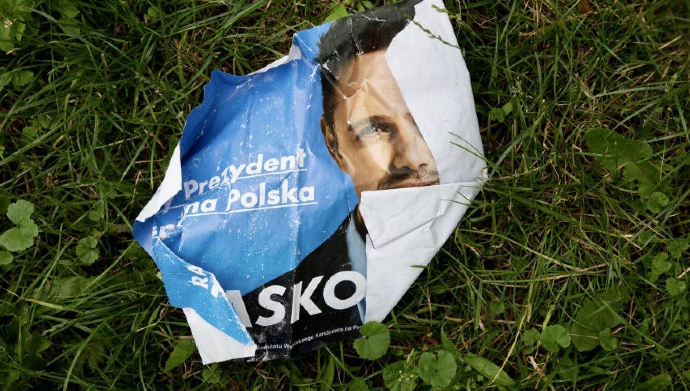 Uśmiechniętej i tolerancyjnej Polsce nie udało się ***** *** (fot. Dominika Zarzycka/NurPhoto via Getty Images)