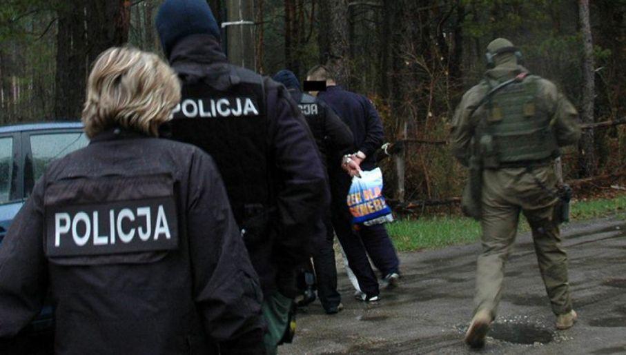 Zatrzymanie Patryka M. w 2014 r. (fot. policja)