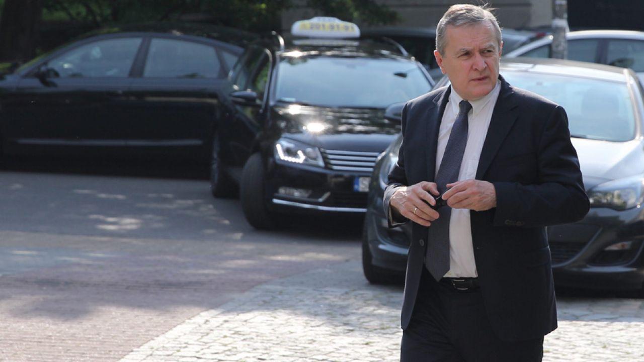 Piotr Gliński stwierdził, że PiS wycofał się z pomysłu jeszcze przed konwencją (fot. PAP/Andrzej Grygiel)