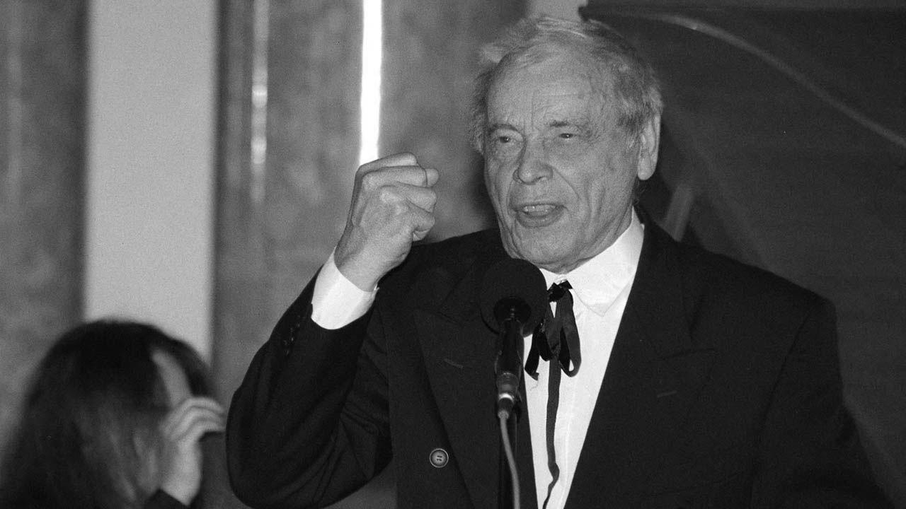 Bernard Ładysz miał 98 lat (fot. arch.PAP/Paweł Kula)