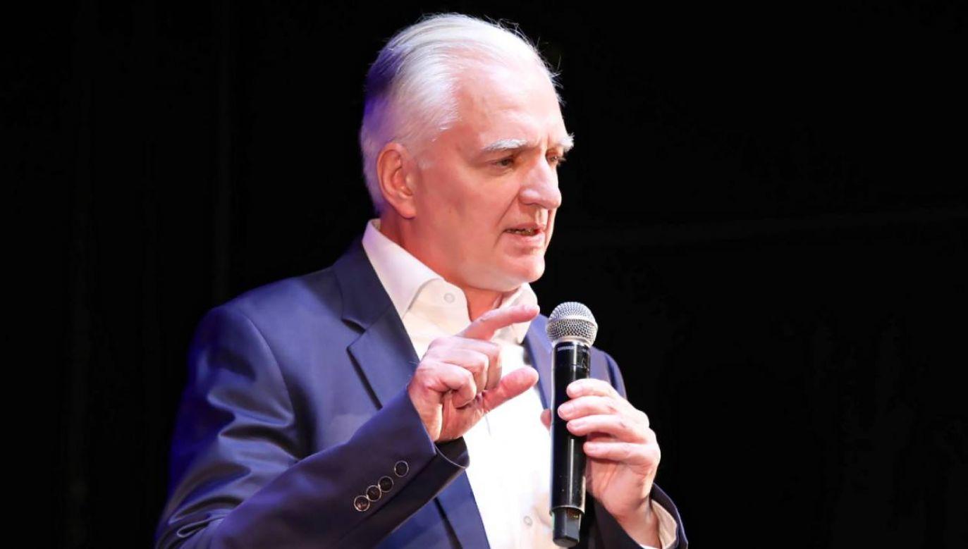 Prezes Porozumienia Jarosław Gowin (fot. PAP/Tomasz Gzell)
