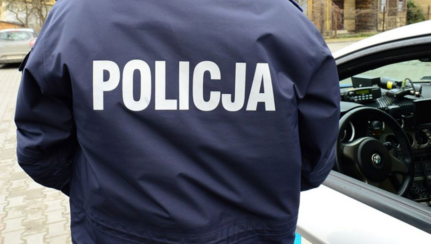 Mundurowym biorącym udział w pościgu nic się nie stało (fot. tvp.info/Paweł Chrabąszcz)