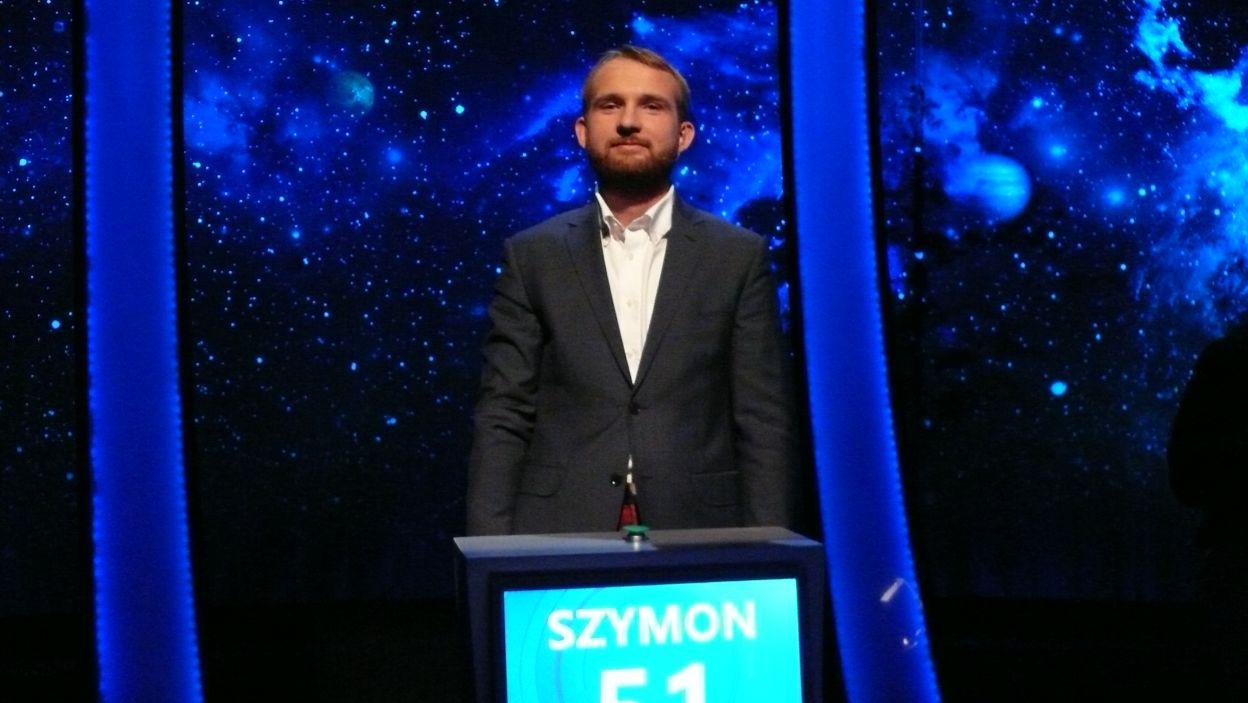 Zwycięzcą 5 odcinka 118 edycji został Pan Szymon Rzeźwicki
