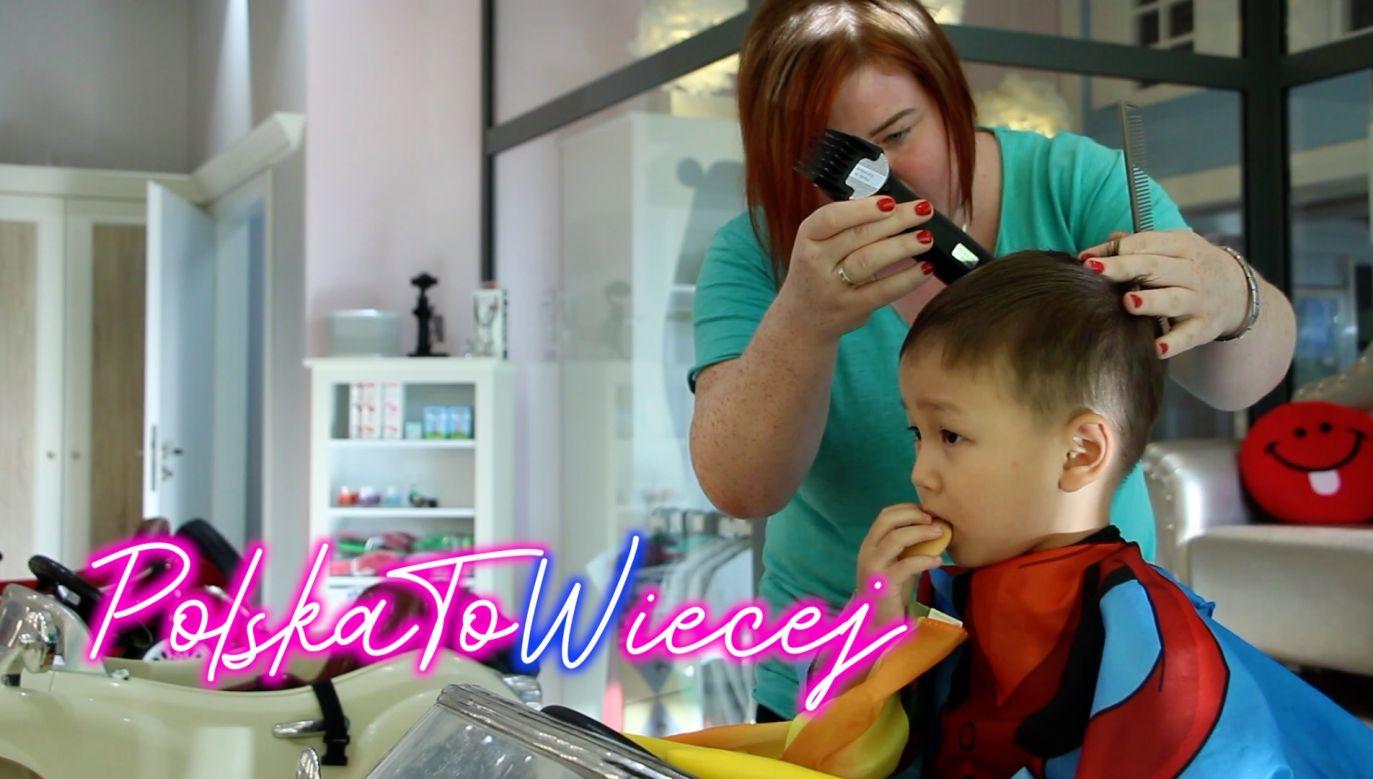 (fot. portal tvp.info) zakład fryzjerski dla dzieci