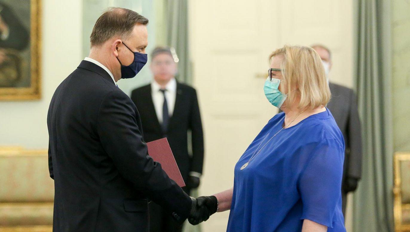 Uroczystości w Pałacu Prezydenckim (fot. Krzysztof Sitkowski/KPRP)