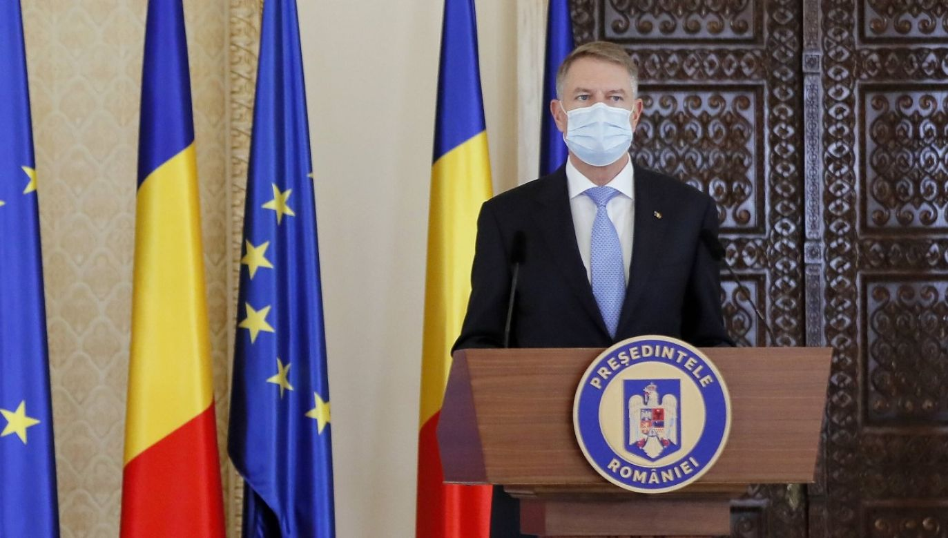 O planach ponownego otwarcia szkół poinformował prezydent Klaus Iohannis (fot. arch PAP/ EPA/ROBERT GHEMENT)