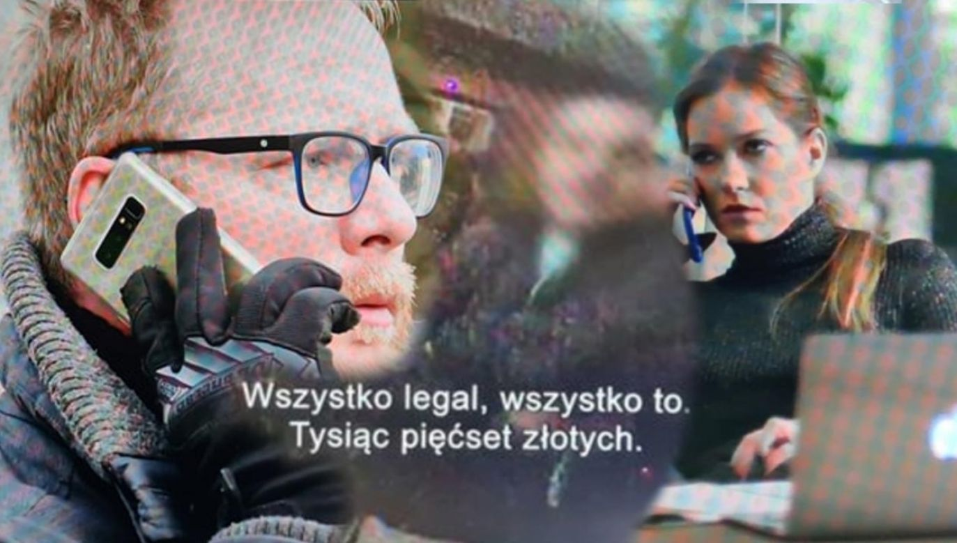 """""""Superwizjer"""" TVN przygotował materiał na temat mafii podatkowych (fot. TVN24)"""