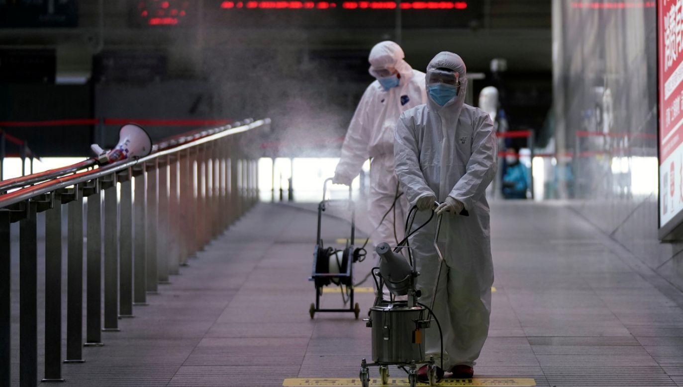 Jeden z wiodących epidemiologów ocenia, że Chiny opanują epidemię do końca kwietnia (fot. Reuters/Aly Song)