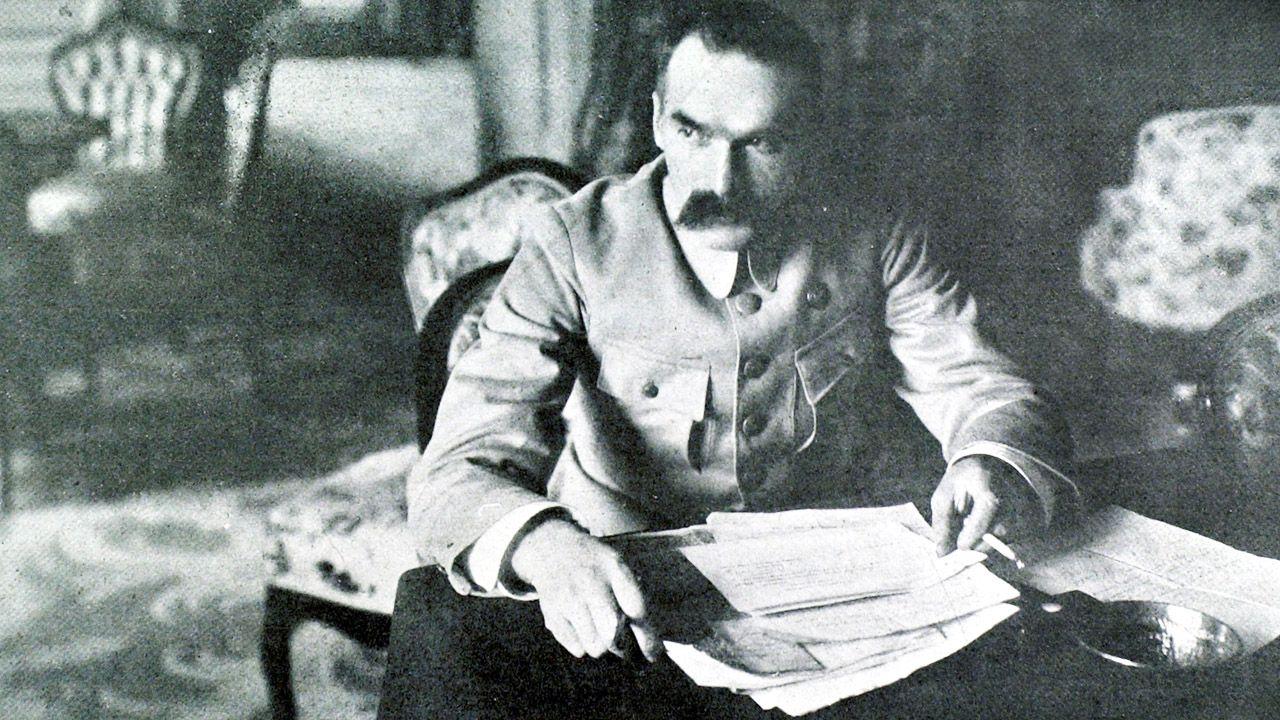 Józef Piłsudski urodził się 5 grudnia 1867 r. w Zułowie na Wileńszczyźnie (fot. Photo12/UIG/Getty Images)