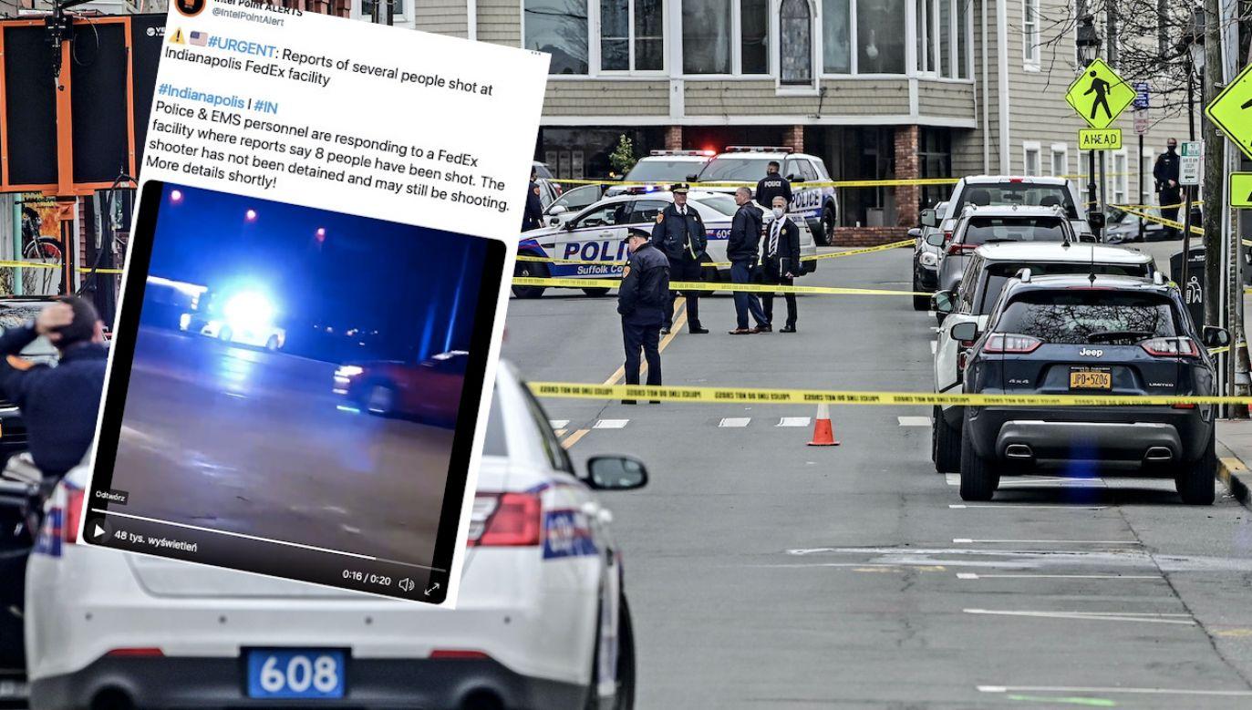 Ofiary ataku zostały przewiezione do okolicznych szpitali (fot. T.A.Ferrara/Newsday RM/Getty Images, zdjęcie ilustracyjne, tt/@IntelPointAlert)