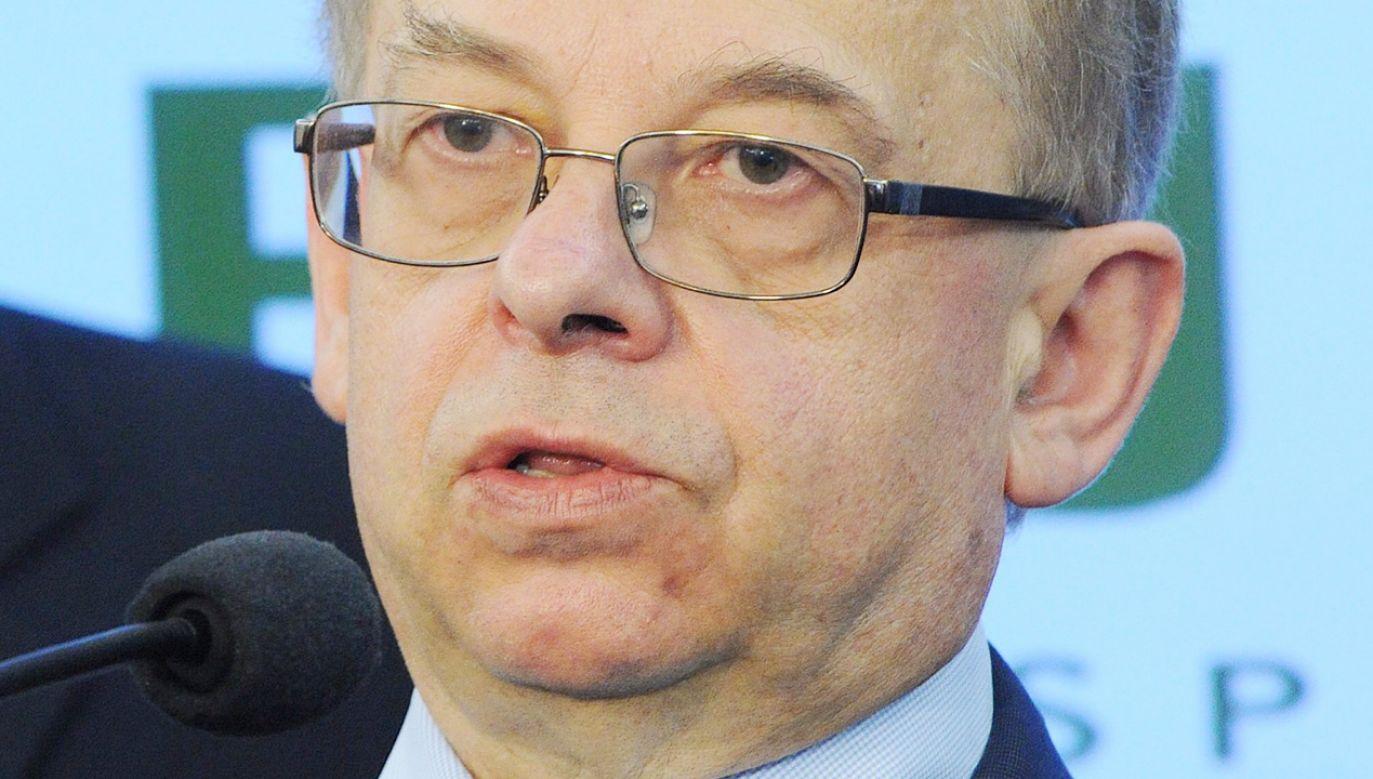 Wojciech Sadurski (fot. PAP/Grzegorz Jakubowski)