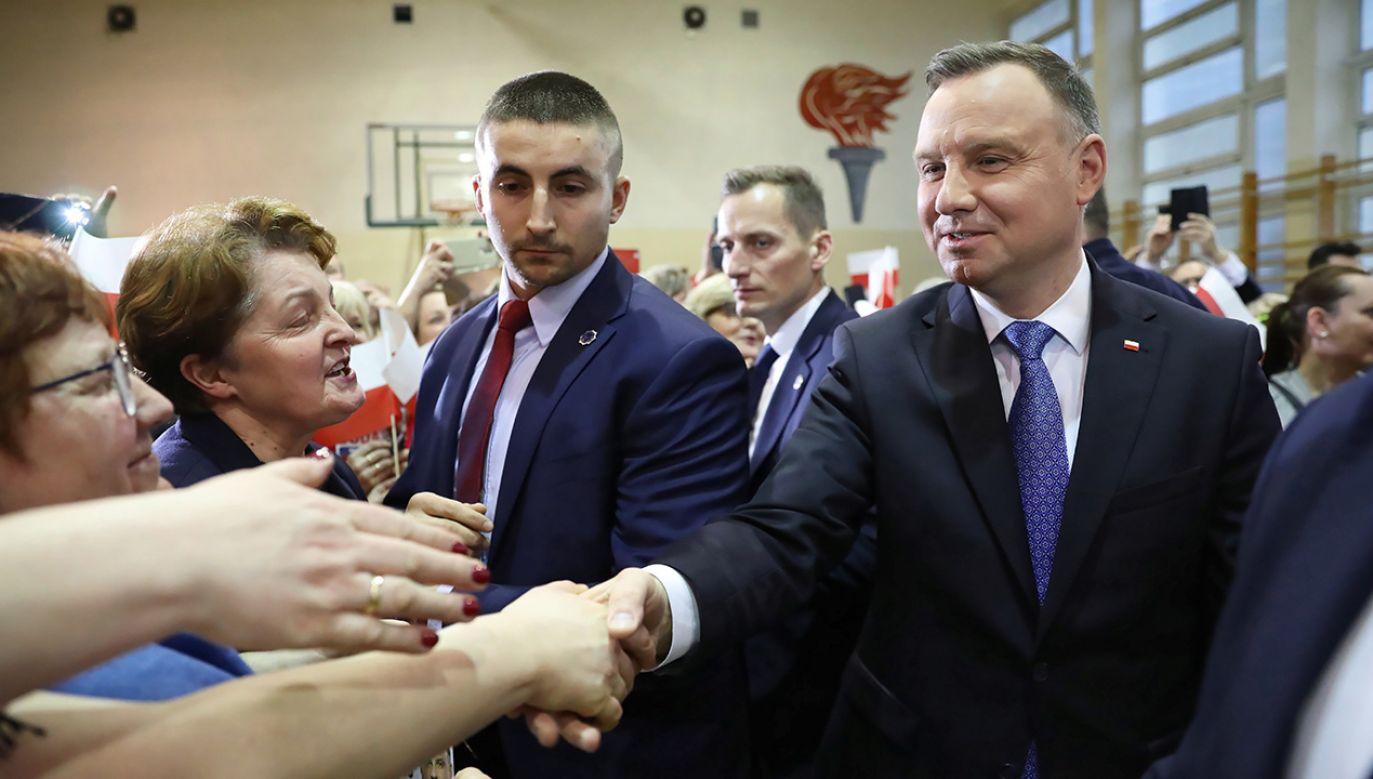Niewielkie zmiany poparcia są związane z aktywnością kandydatów na prezydenta – ocenia politolog prof. Ewa Marciniak z UW (fot. PAP/Leszek Szymański)