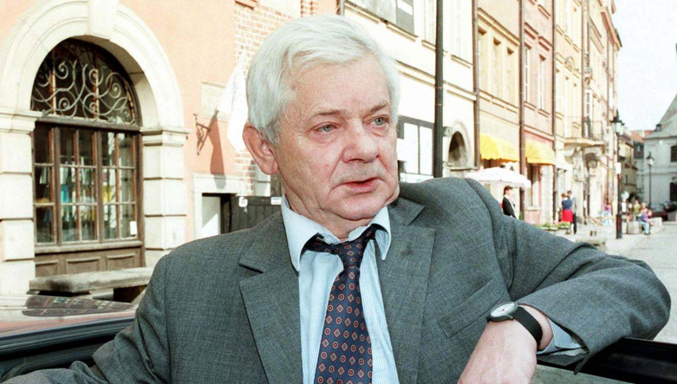Zbigniew Herbert (fot. PAP-Andrzej Rybczyński)