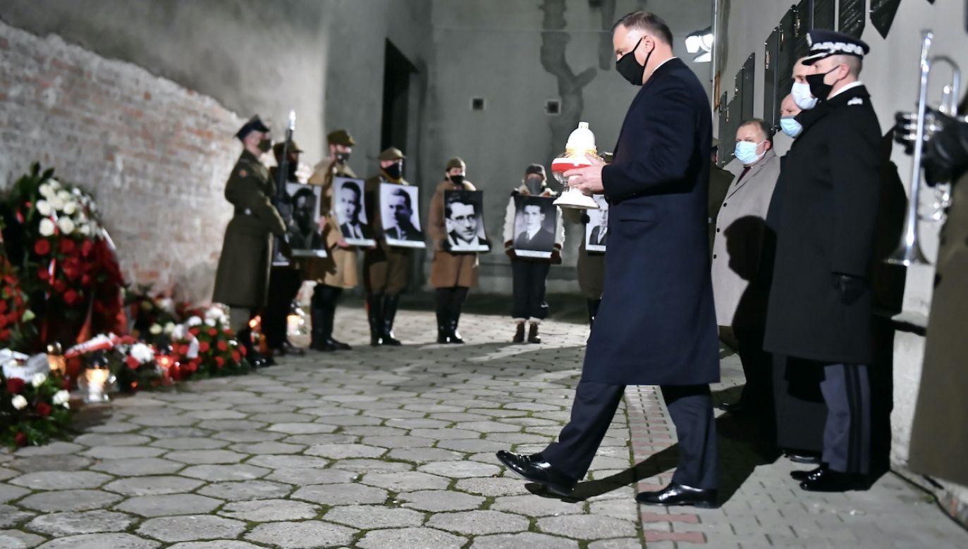 70 lat temu w tym miejscu zostali  zamordowani polscy patrioci (fot. PAP)