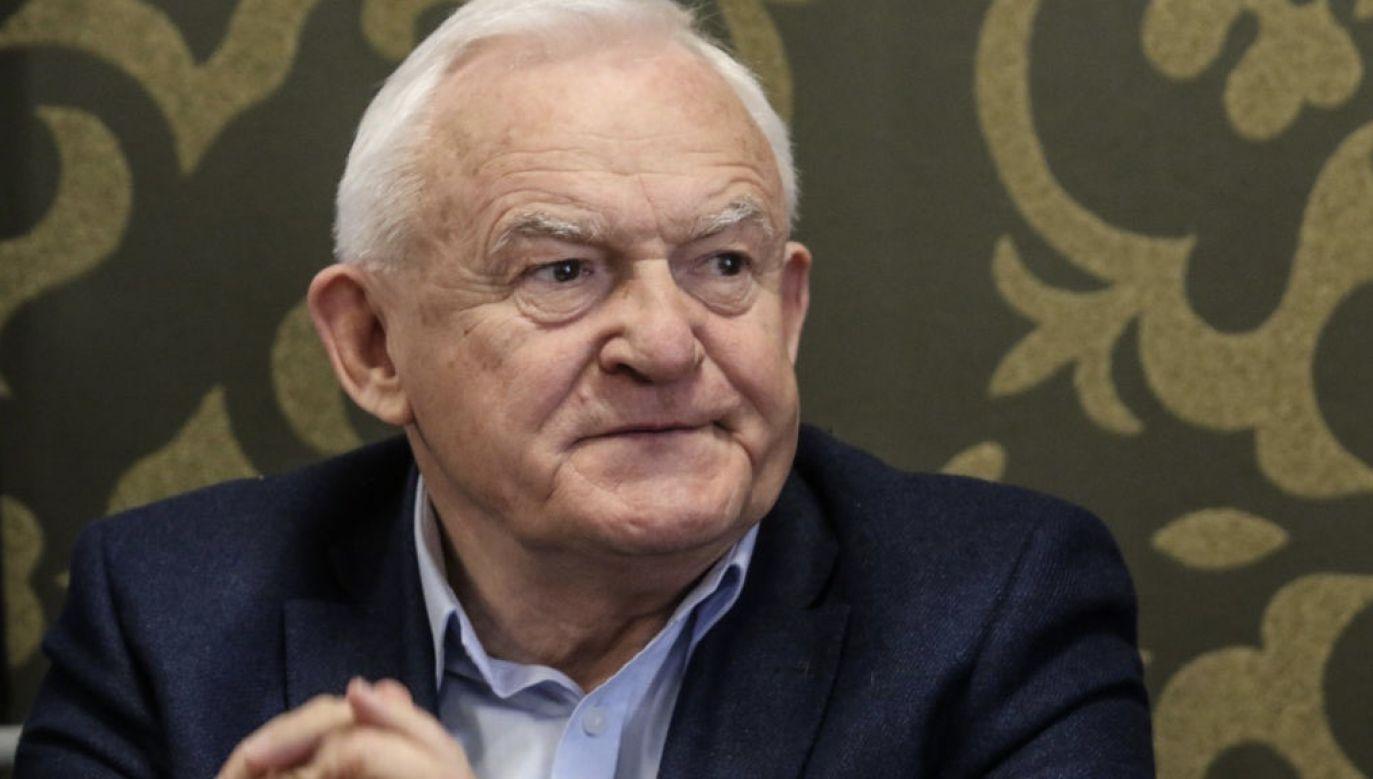 Leszek Miller w PE jest od 2019 roku (fot. Michal Fludra/NurPhoto via Getty Images)