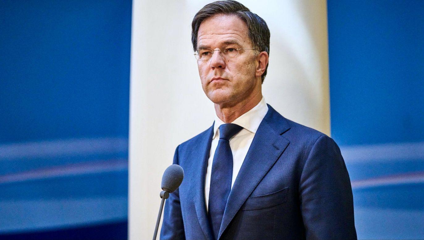 Rząd Marka Rutte okłamywał nie tylko opinię publiczną (fot. PAP/EPA/P.Nijhuis)