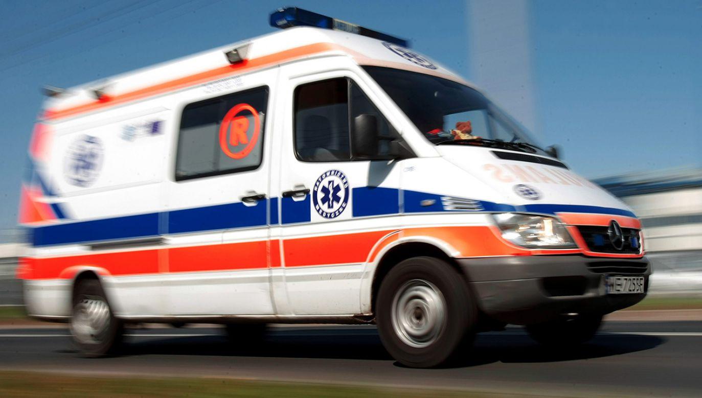 W wypadku zginęlo dziecko (fot. arch. PAP/Leszek Szymański)