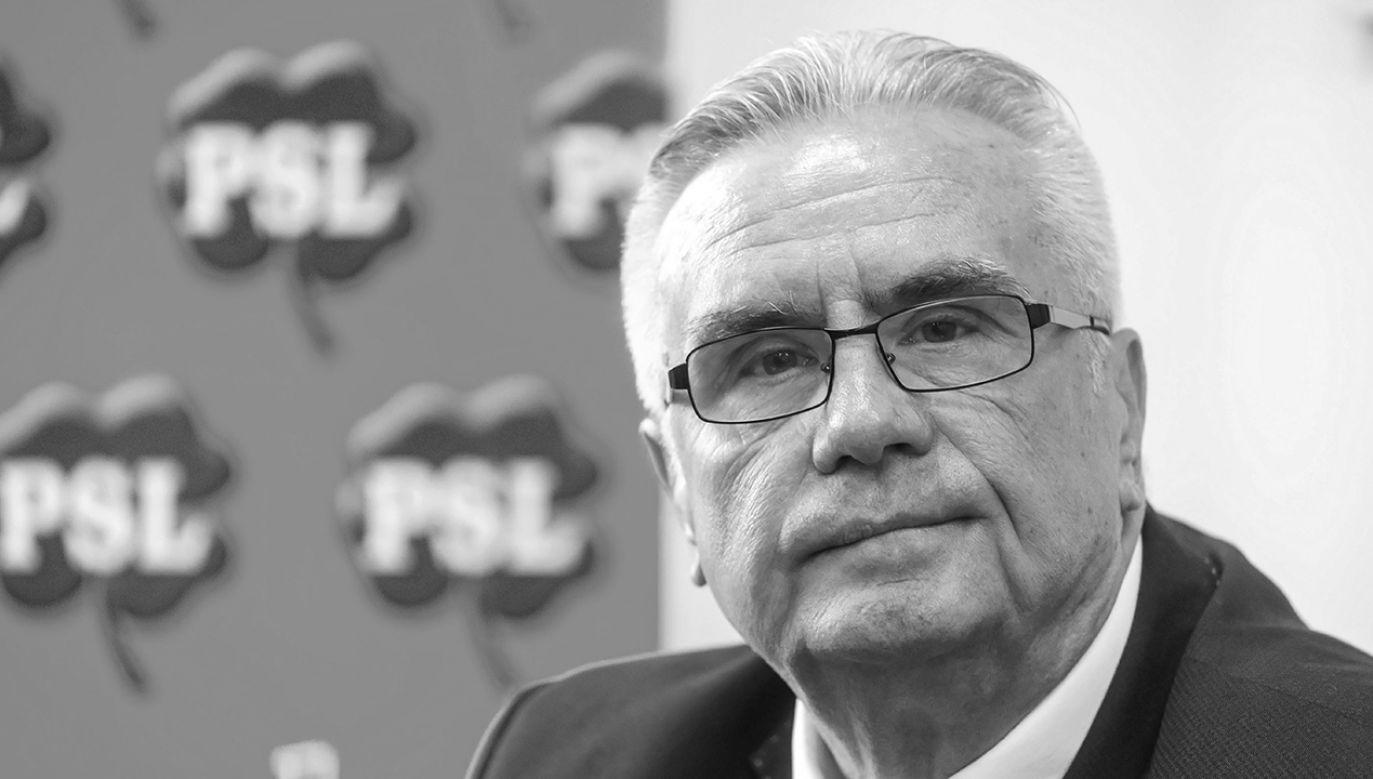 Janusz Dzięcioł był posłem VI i VII kadencji Sejmu (fot. arch. PAP/Tytus Żmijewski)