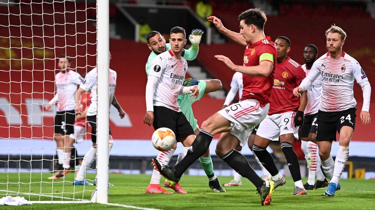 LE: Manchester United – AC Milan 1:1. Kiks sezonu Harry'ego Maguire'a miał konsekwencje (sport.tvp.pl)