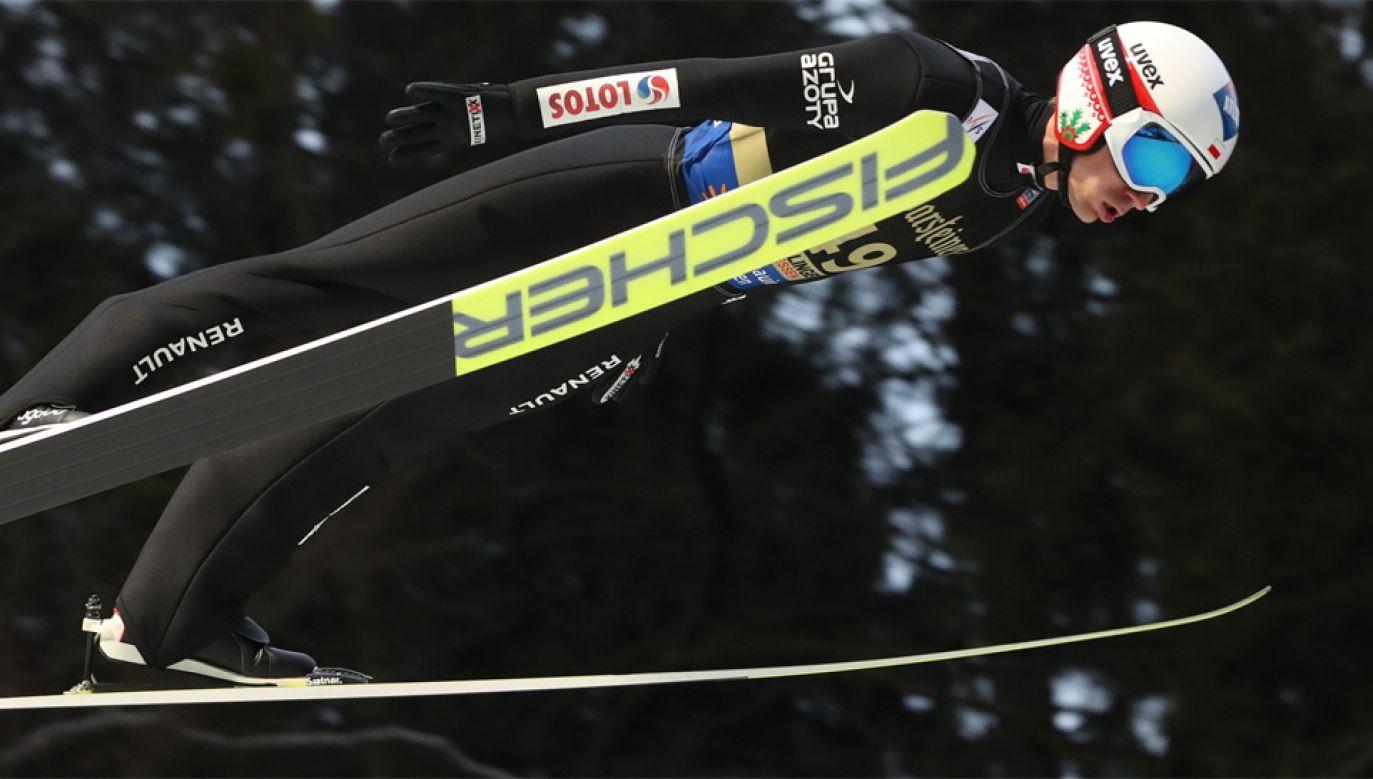 Kamil Stoch zajął trzecie miejsce w Willingen (fot. PAP/Grzegorz Momot)