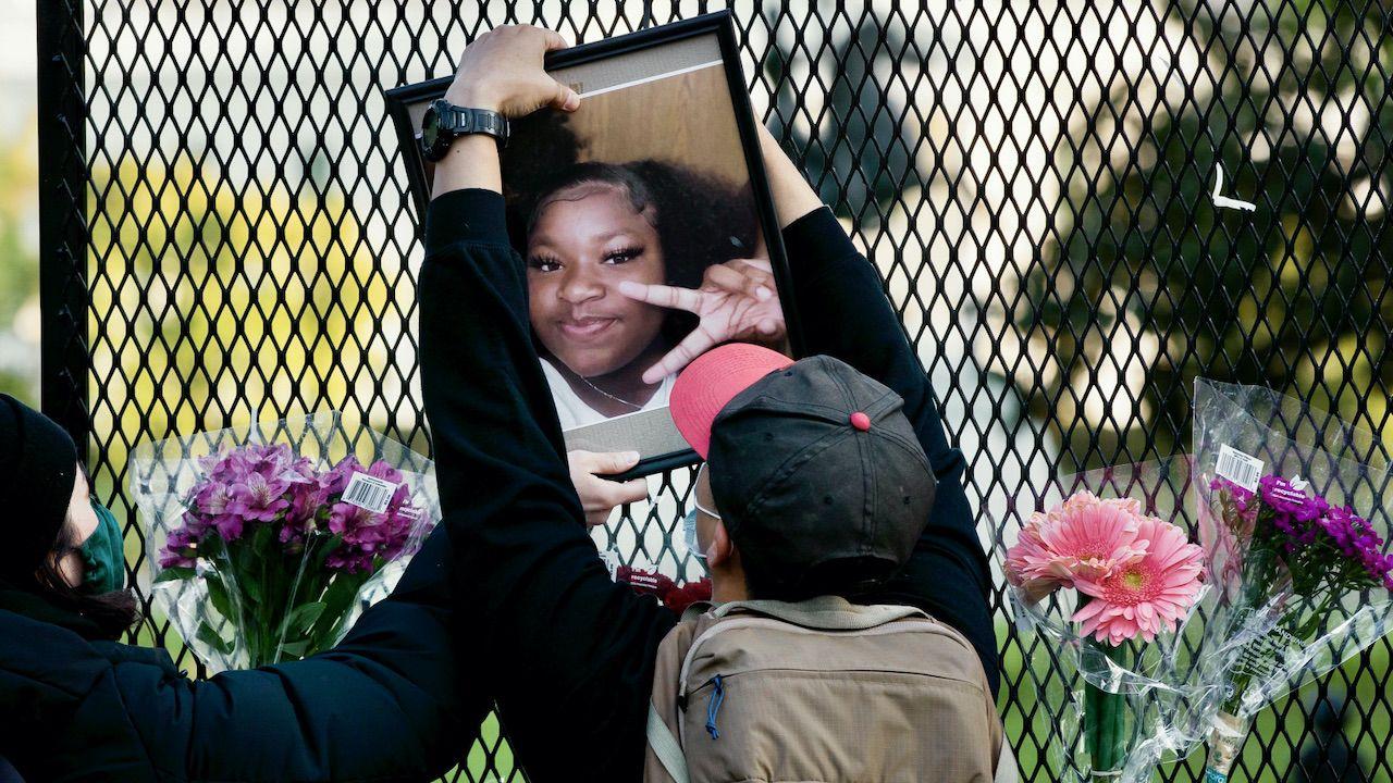 Po śmierci agresywnej nastolatki w Columbus doszło do protestów Afroamerykanów (fot. PAP/EPA/MICHAEL REYNOLDS)