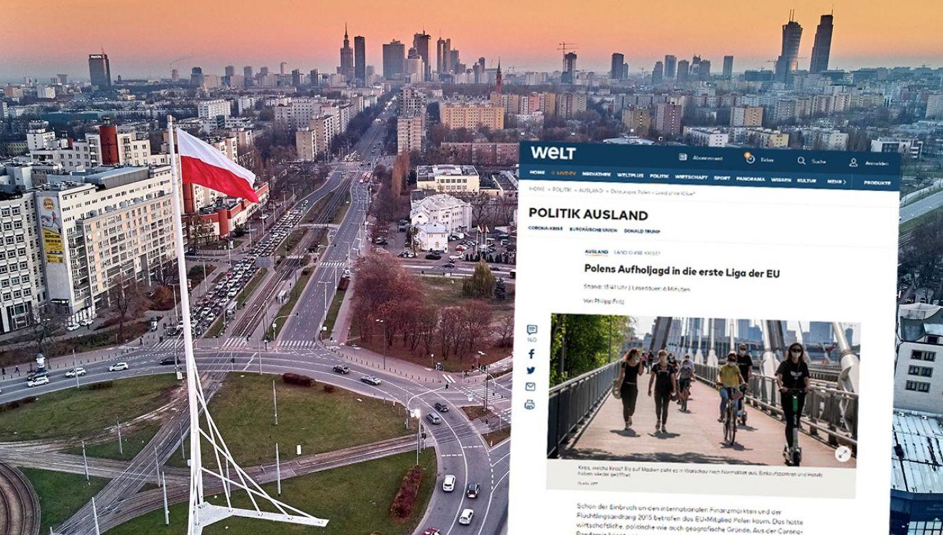 Polska się trzyma, gdy inni się potykają – ocenia welt.de (fot. Shutterstock/udmurd)